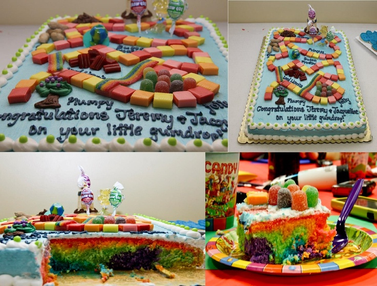 Our AMAZING Cake! Made By The Fabulous @Jerilyn Sykes · CandylandAmazing  CakesBaby ShowerShower Ideas