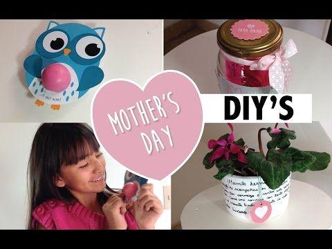 DIY'S! DÍA DE LA MADRE ♡ - YouTube