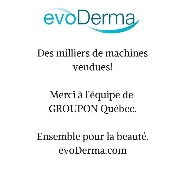 #5millionsdemercis GROUPON Québec! Succès et fidélisation de la clientèle.