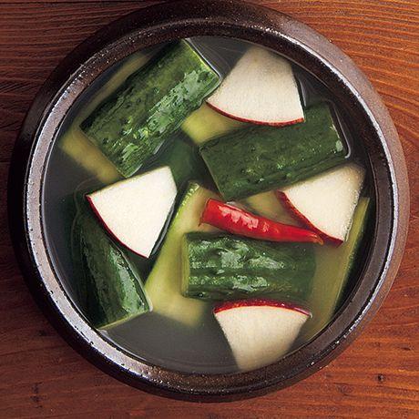 きゅうり水キムチ | コウケンテツさんの漬けものの料理レシピ | プロの簡単料理レシピはレタスクラブニュース