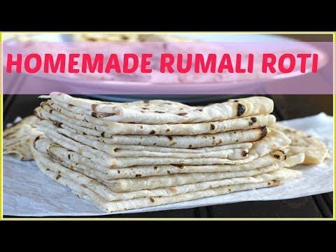 Rumali Roti Recipe | रुमाली रोटी | Quick & Easy Indian Food Recipes in Hindi - YouTube