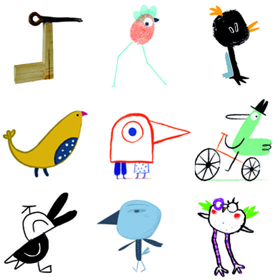 Pato Pollos finalistas en Ilustratour 2014