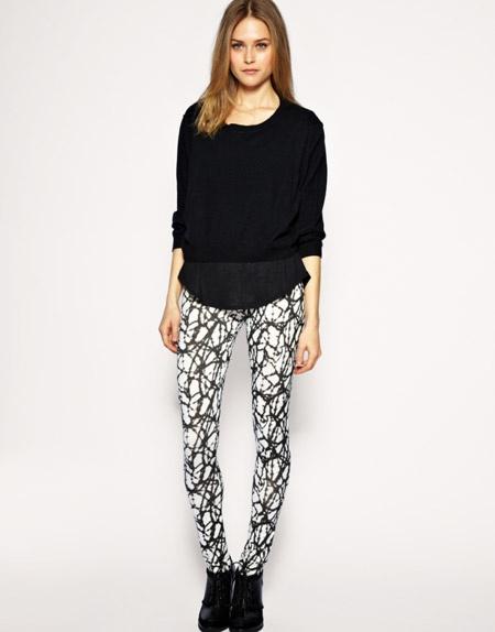 printed leggins