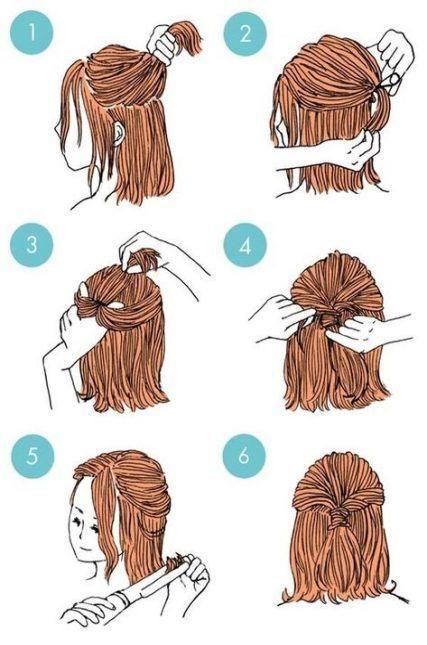 38 Super-Ideen für Frisuren Recogido-Frisuren  #frisuren #ideen #recogido #supe…  # Bunte Haare