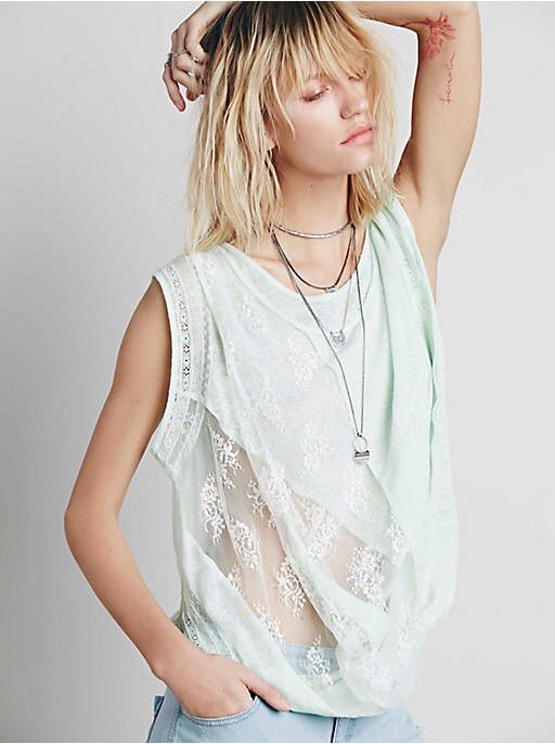 Free People FP New Romantics Twist And Shout Tee, $98.00