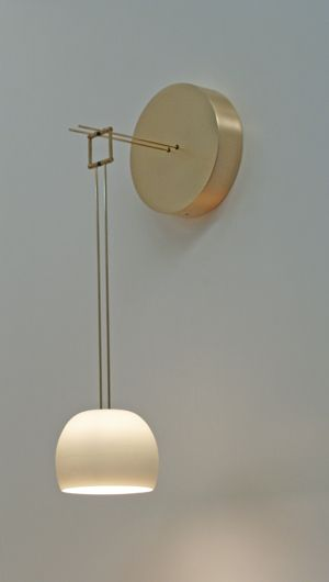 Zeit sconce | Zeitlin Design (via NIDO Living)