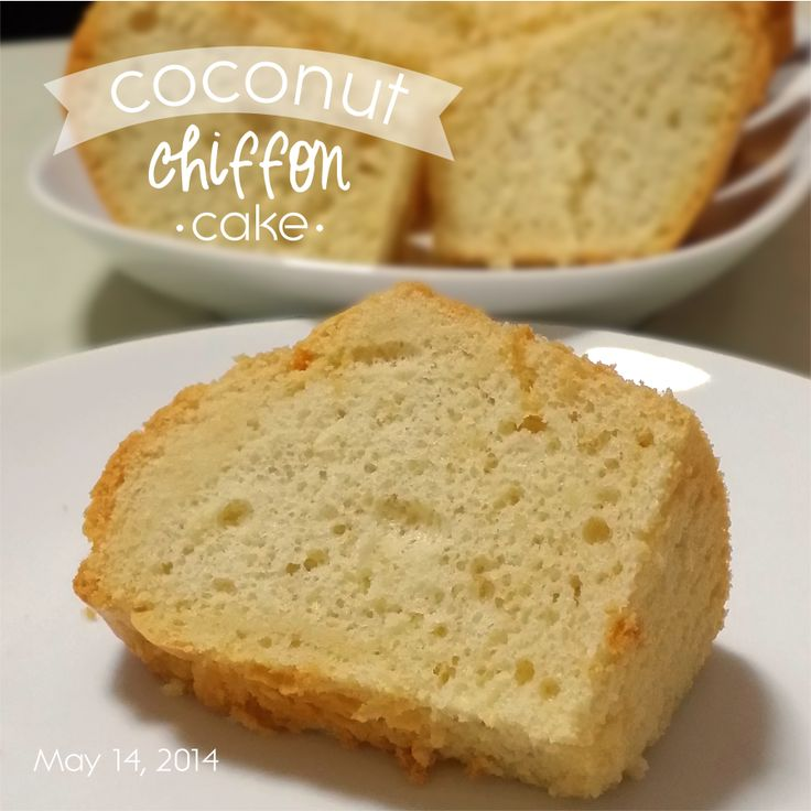 38 best food cakes chiffon images on pinterest cake recipes coconut chiffon cake recipe from passionbakerspot forumfinder Gallery