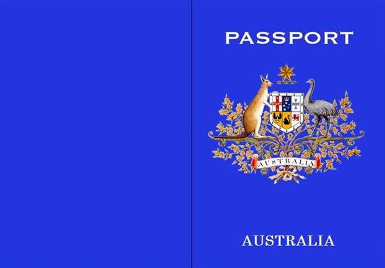 Australian Passport Template: This document can be used to provide students with their very own Australian Passport.