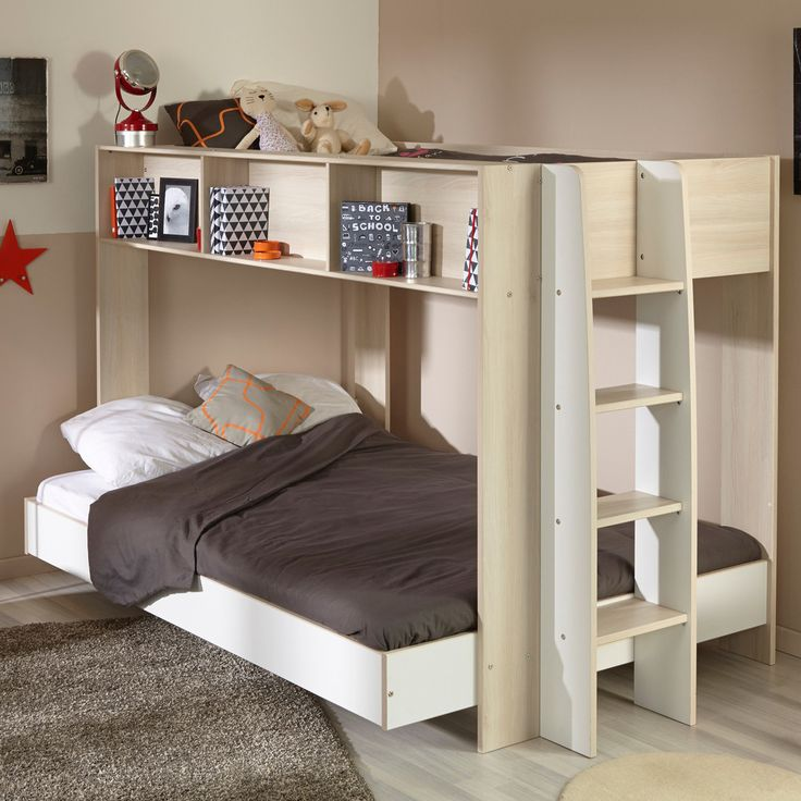 This Parisot Team Triple Bunk Bed Is One Of Those Rare Bunks With A Double