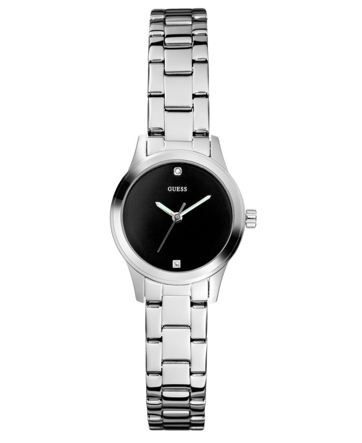GUESS Watch, Women's Silver Tone Bracelet *want!*