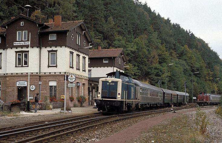 211 214 + 212 257 Neuenbürg 19.10.85