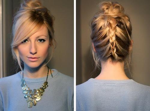 Coques, tranças, ondas, cores e cabelos bonitos!