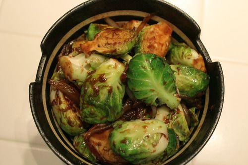 glazed pork chops brussels sprouts eva s brussels sprouts oregano ...