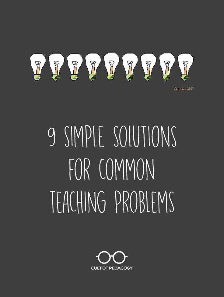 The solutions to many of our education challenges are things we could start doing tomorrow. Here are 9 ideas you can try right away.
