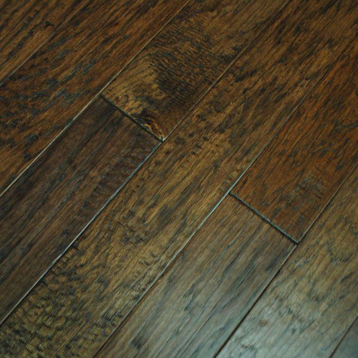 Hickory Mocha Handscraped Hardwood Flooring Find Your Perfect