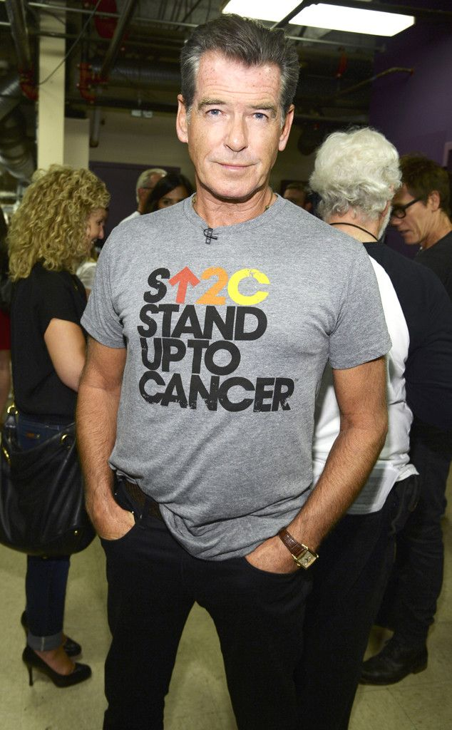 Pierce Brosnan Opens Up About Daughter and First Wife's Deaths From Ovarian Cancer  Pierce Brosnan, Stand Up To Cancer