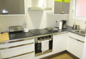 Foto cocina de piso en alquiler en Barcelona Resa Housing
