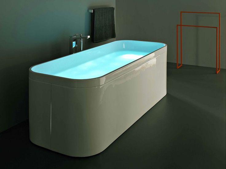 Baignoire ilôt en acrylique GEO 170X70 by Kos by Zucchetti design Ludovica Roberto Palomba
