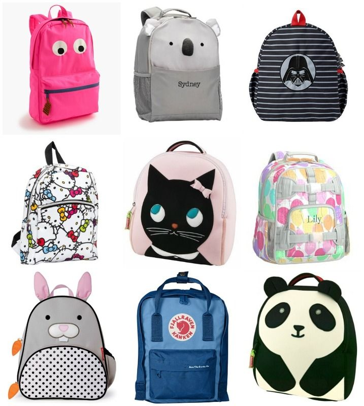22 cool preschool backpacks for little kids - we've done the searching for you so you don't have to!  | Cool Mom Picks back to school guide 2016