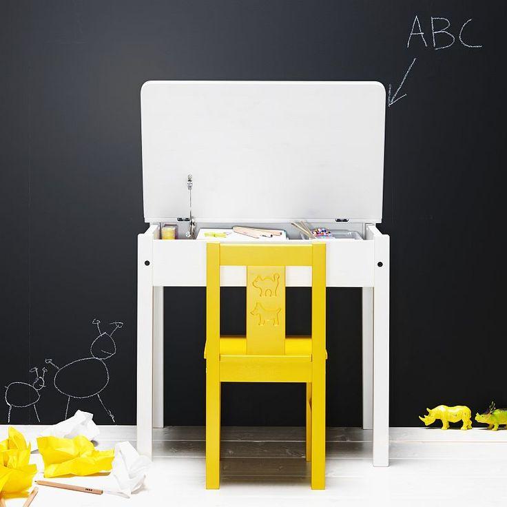 die besten 25 ikea kinderschreibtisch ideen auf pinterest. Black Bedroom Furniture Sets. Home Design Ideas