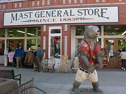 The Original Mast General Store is located in Valle Crucis, North Carolina. First opened in by.