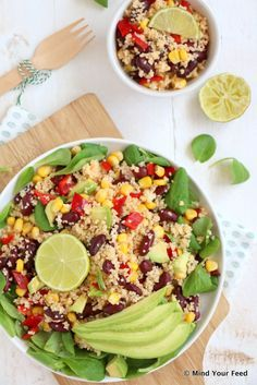 Mexicaanse couscous salade - Mind Your Feed