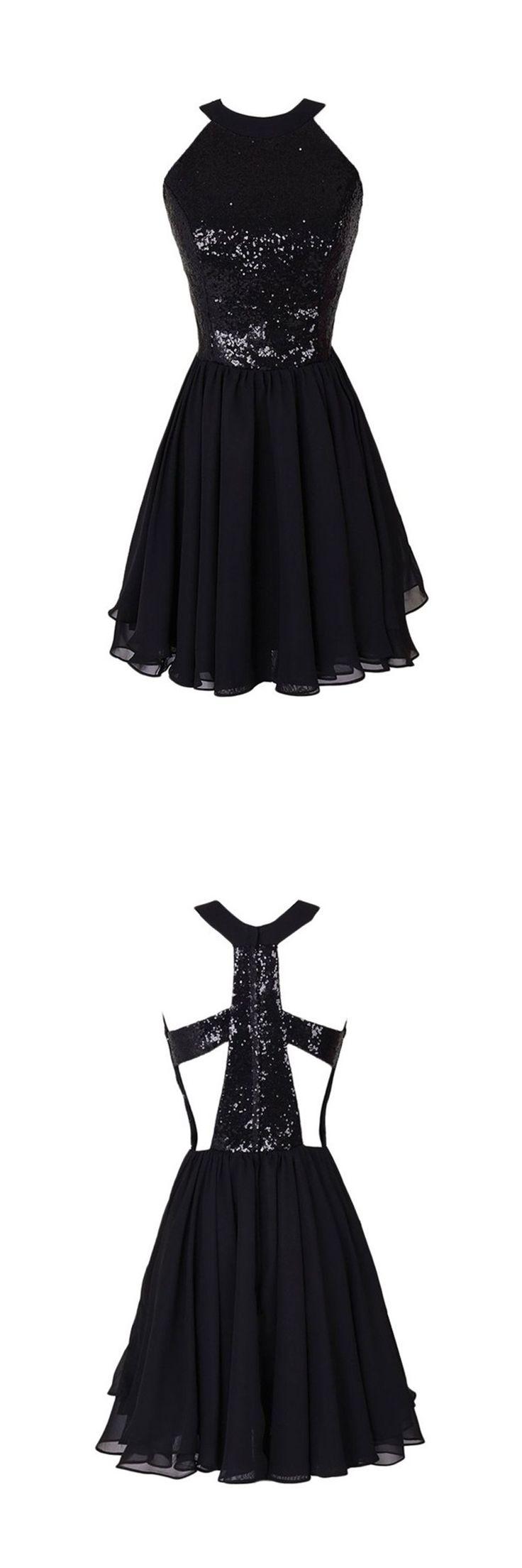 2016 homecoming dress,short homecoming dress,black homecoming dress,mini homeoming dress,unique homecoming dress,a-line homecoming dress