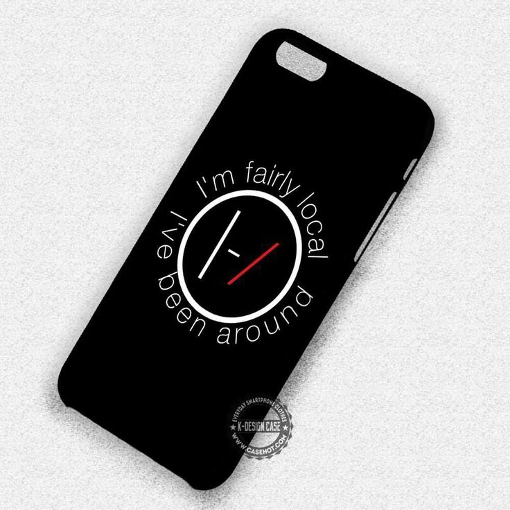 Twenty One Pilots Band - iPhone 7 6s 5c 4s SE Cases & Covers
