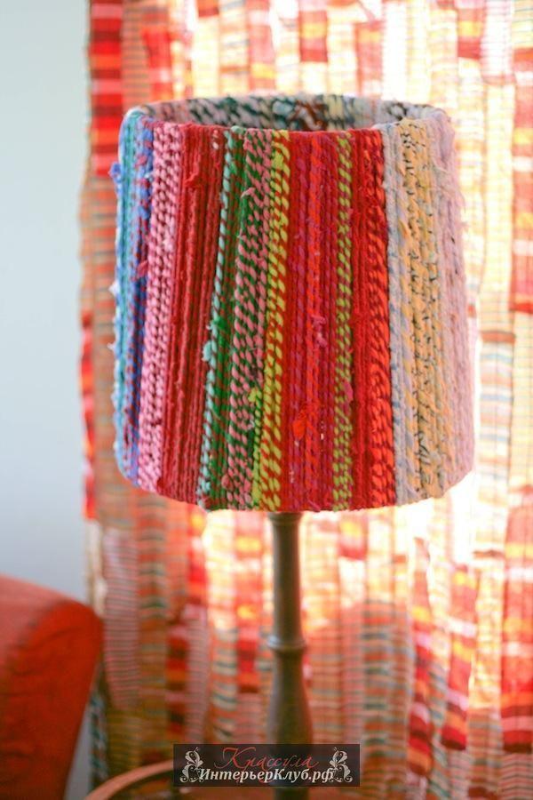 22 Новый абажур своими руками, идеи для абажура своими руками, украсить абажур настольной лампы торшера своими руками