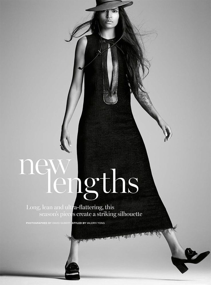 awesome Laura James wear the new lenghts for Marie Claire Australia July 2015 by David Gubert [Editorial]