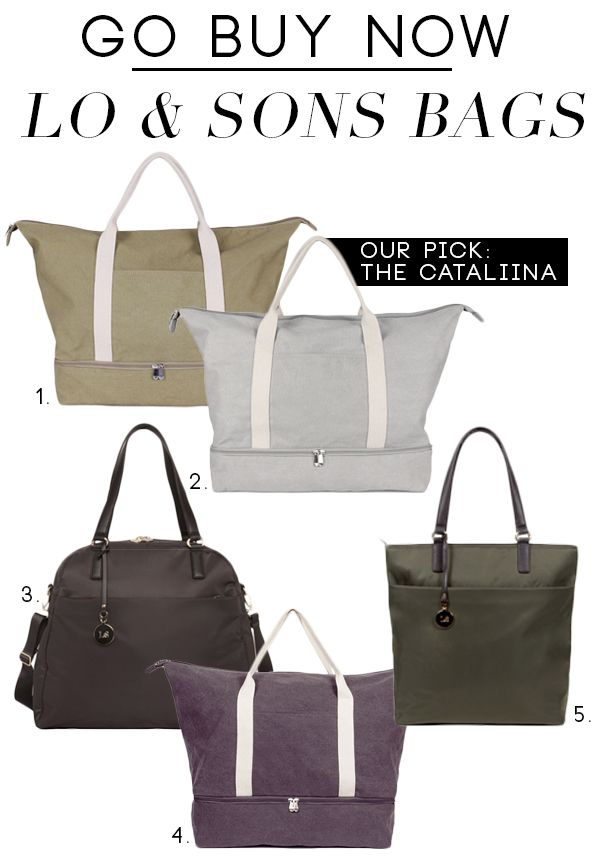 Go Buy Now: Lo & Sons Bags....there is a coupon code at the end of the page