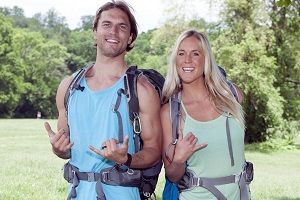 Adam Dirks and his wife, Bethany, will be competing in the 'Amazing Race 25' on CBS on Friday night.