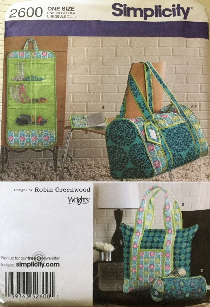 169 besten Bags, Hats & Accessories Sewing Patterns at twogirlpugs ...