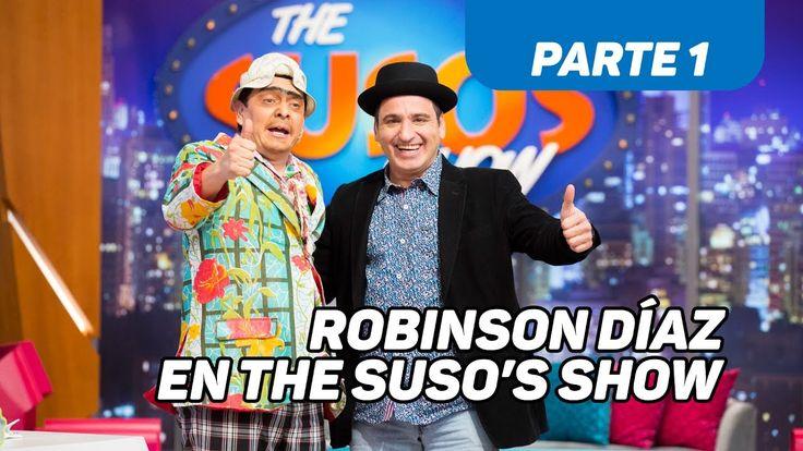 Robinson Díaz en The Suso's Show - Caracol TV - Parte 1