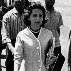 Diane Nash: In 1962, she was sentenced to two years in prison for teaching nonviolent tactics to children in Jackson, MS, although she was four months pregnant. She was later released on appeal. Nash played a major role in the Birmingham de-segregation campaign of 1963 and the Selma Voting Rights Campaign of 1965