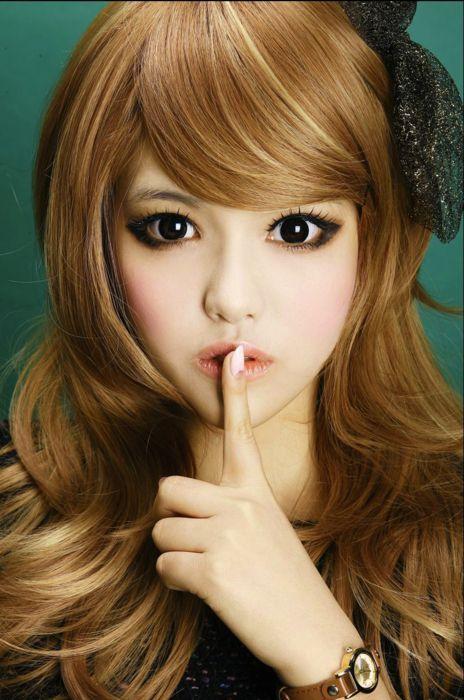 Ulzzang girl makeup | Ulzzang | Pinterest | Hair, Kawaii ...