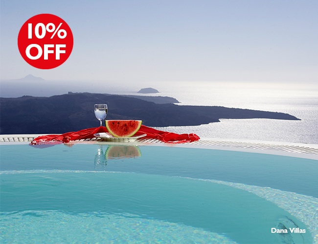 Early birds for great hotels in Greece! Receive up to 15% discount!