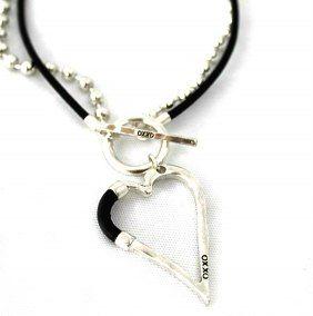 OXXO design halsband Bumpy Heart