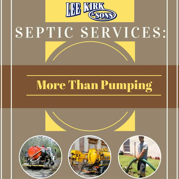 Septic Services: More Than Pumping