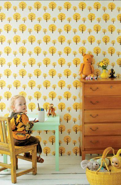 cute wallpaper: Dotty Wallpaperfromthe70S Com, Wallpaper Kids Room, Kids Room Wallpaper, Bedroom Wallpaper, Baby Rooms, Cute Wallpapers, Kids Rooms