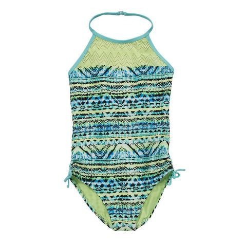 Angel Beach Girls Plus Aztek Zigzag 1 Piece Swimsuit  Prices and promotions may vary in-store and online
