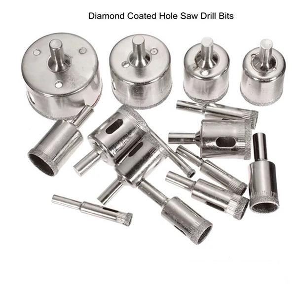 Diamond Glass Drill Bit Set 15pcs In 2020 With Images Drill