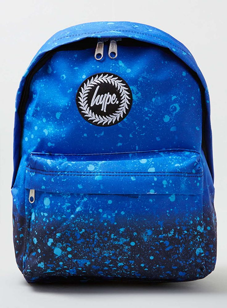 Hype Blue Splat Backpack*