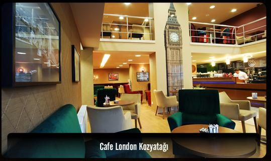 Cafe London - keyifli tatlar | Normal is Good