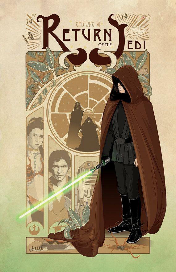 Star Wars: Return of the Jedi Poster 11x17 Art por cryssycheung