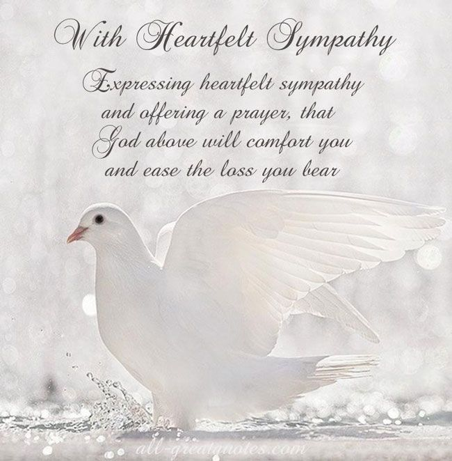 Inspirational Sympathy Quotes And Sayings. QuotesGram