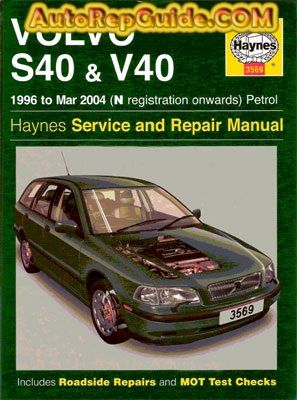 2003 volvo s40 repair manual pdf