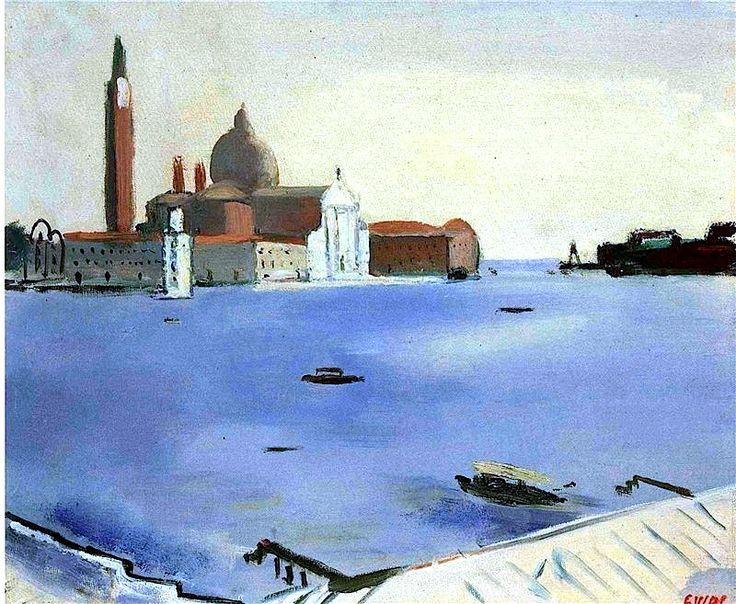 Virgilio Guidi - Paysage.