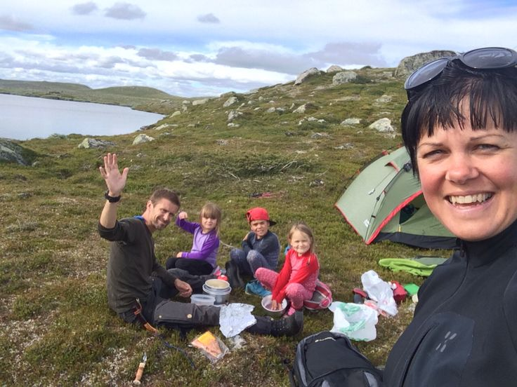 Hiking with the kids in #tänndalen