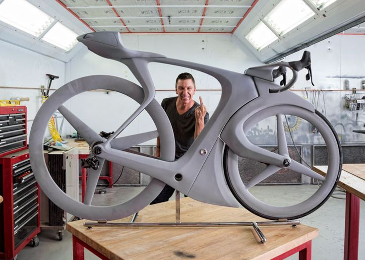 """""""Eff You See Eye"""" concept bike by Specialized Creative Director Robert Egger"""